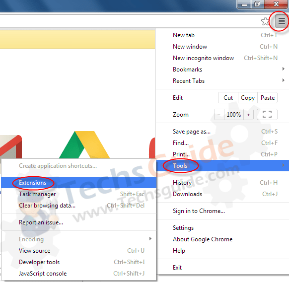 google-addons-removal-guide1