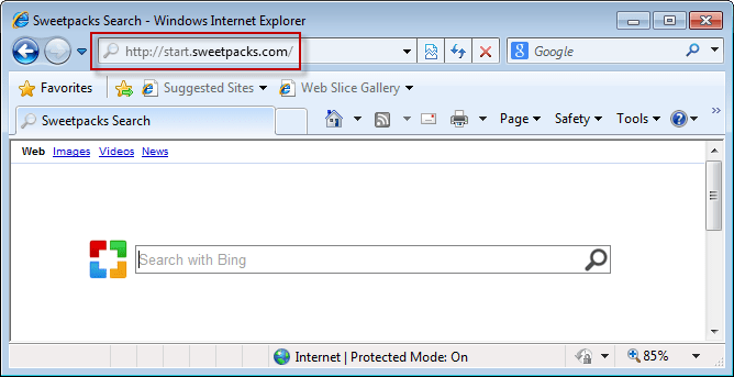 start.sweetpacks.com-removal-instruction