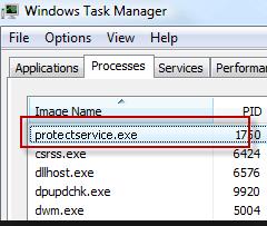 Protectservice.exe Process killer