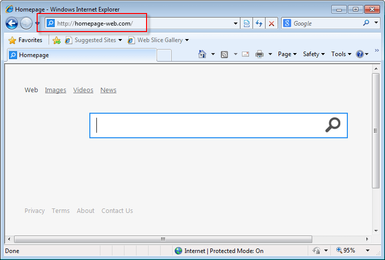 How To Remove Homepage-web.com Search Bar (Guideline