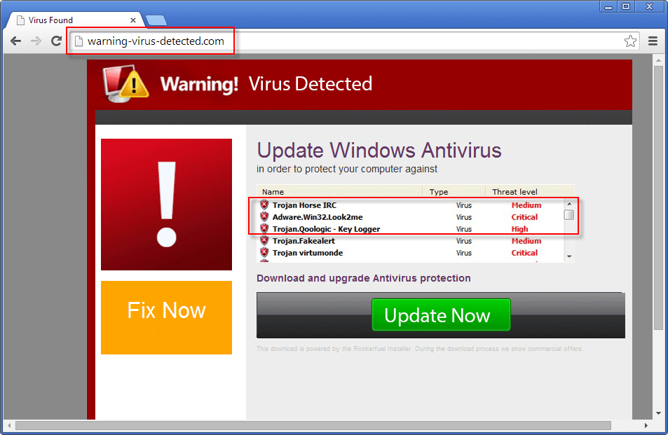 How to Remove Warning-Virus-Detected.com Popup (Guideline)