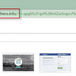 Websearch.searchero.info Search Bar Screenshot