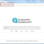 Buscarenlaweb.com Search Bar Screenshot