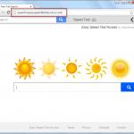 Search.easyspeedtestaccess.com Search Bar Screenshot