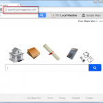Search.yourmapsnow.com Search Bar Screenshot