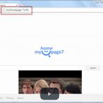 Myhomepage-7.info Search Bar Screenshot