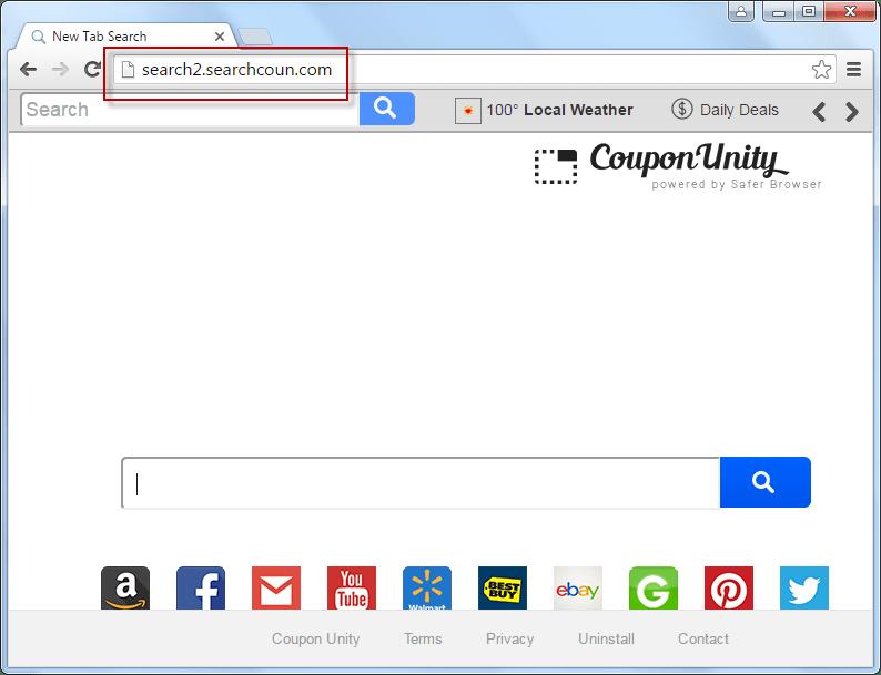 Search.searchcoun.com Search Page Screenshot