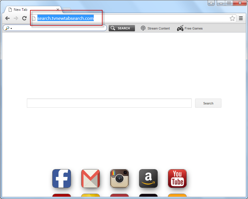 Search.tvnewtabsearch.com Removal Guideline