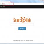 Searchhub.info Search Bar Screenshot