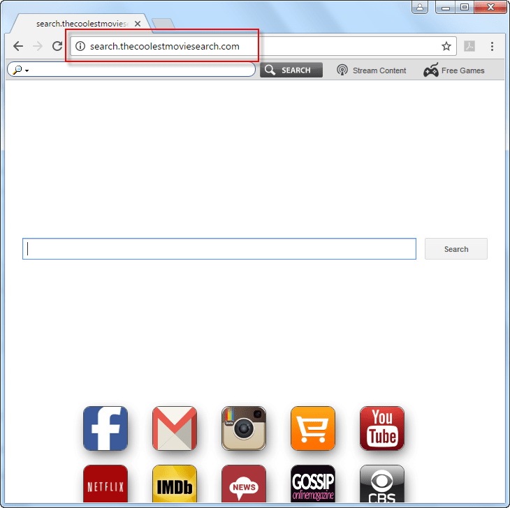search-thecoolestmoviesearch-com-search-bar-screenshot