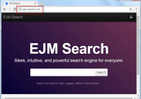 Ejm-search.com Search Bar Screenshot