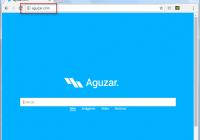 Aguzar.com Search Bar