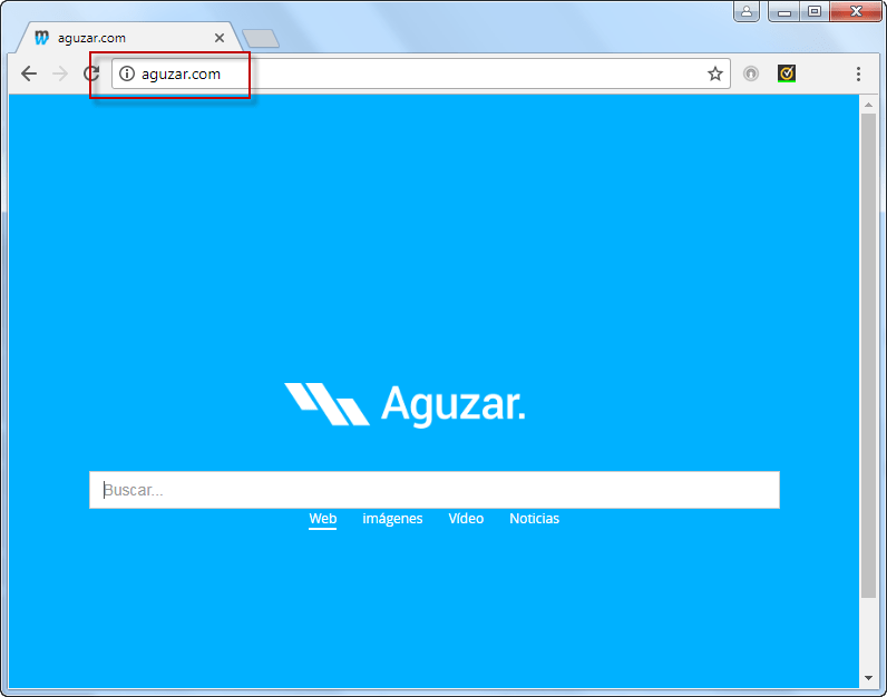 Aguzar.com Search Bar