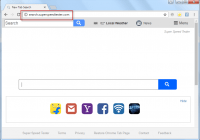 Search.superspeedtester.com search bar