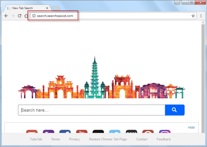 Search.searchsassist.comSearch Bar
