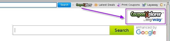 CouponXplorer Search Page