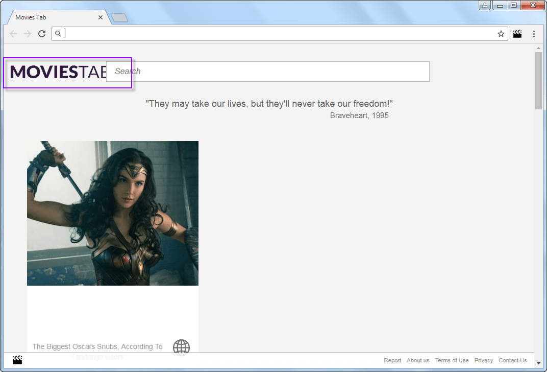Movies-Tab.com New Tab