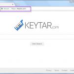 Keytar.com search bar