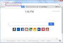 Remove Search.searchgetdriving.com search bar