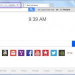 remove Searchlef.com search bar