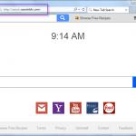 Remove Search.searchbfr.com search bar