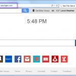 Remove Search.searchgbv.com search bar