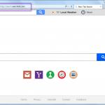 Delete Search.searchidt.com search bar