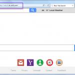 remove search.tz-cmf.com search bar