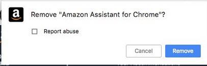Remove Amazon assistant