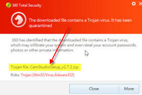 Is-camstudio-trojan-virus-malware-adware