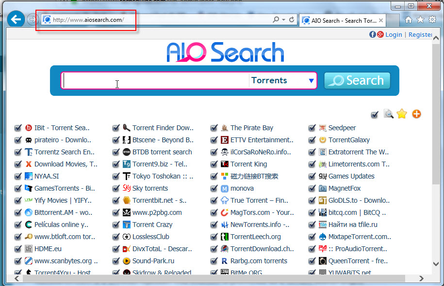 Remove AIOSearch.com Homepage