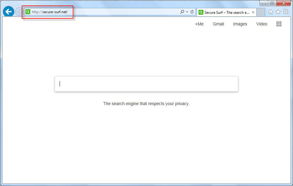 remove secure-surf.net search page