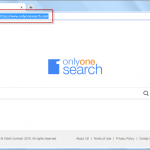 Onlyonesearch.com removal Guideline