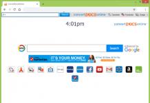 Convert Docs Online hompage