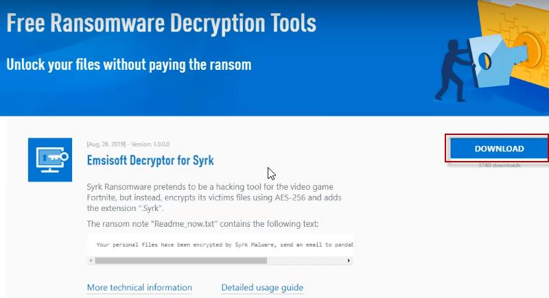 dycription-tool