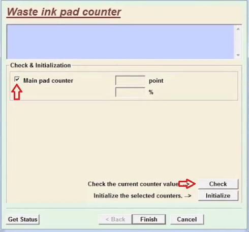 check pad counter
