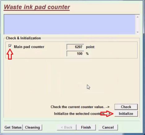 counter initialization