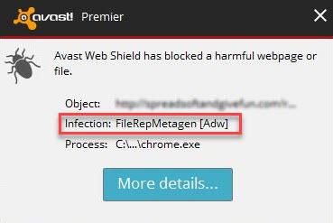 Filerepmetagen Adware