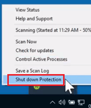 shut protection