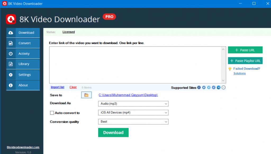 8K Downloader