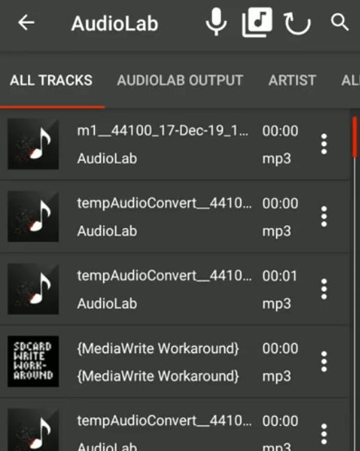 wav track